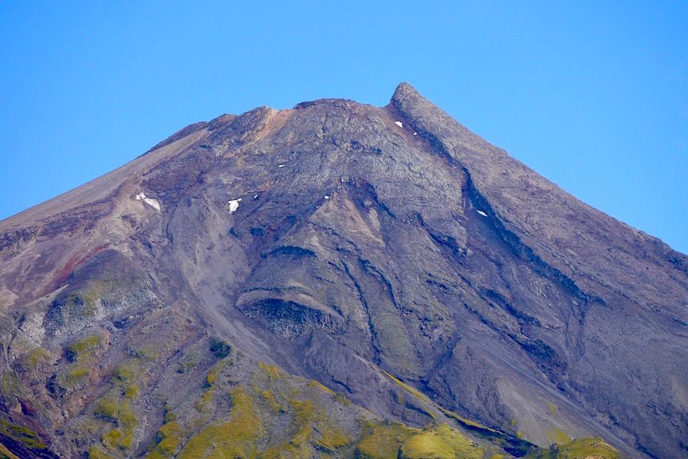 Mt Taranaki - Schichtvulkan im Egmont National Park - Nordinsel Neuseeland