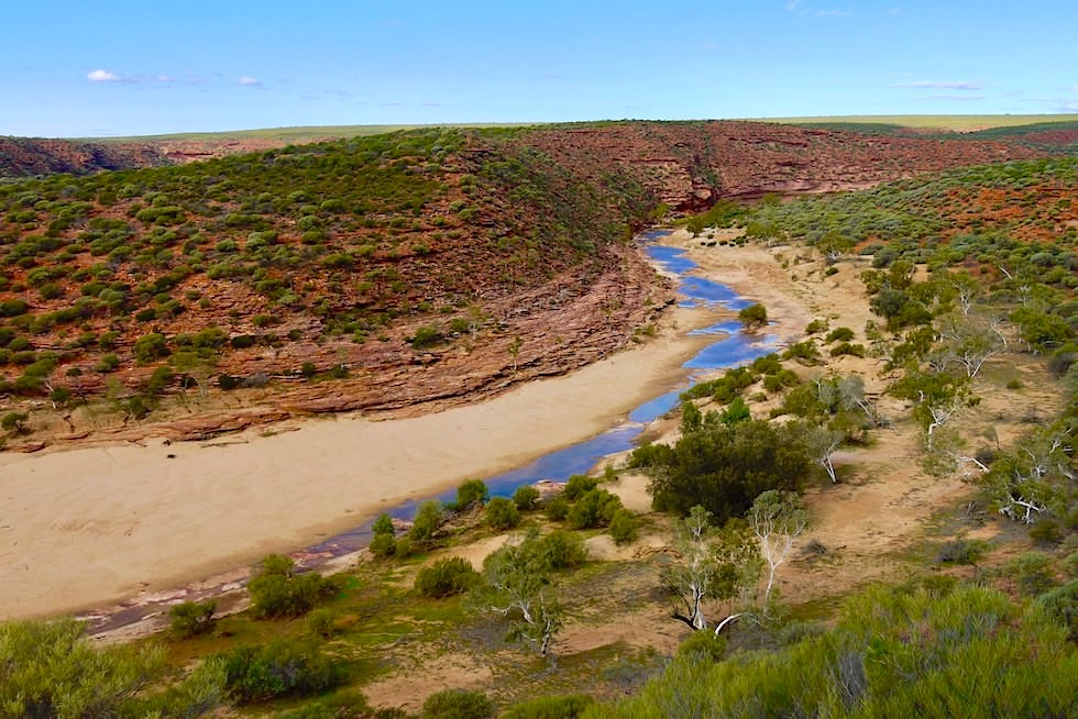 Grandioser Ausblick: Murchison Gorge & Nature's Window - Kalbarri National Park - Western Australia