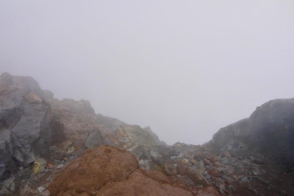 Nicht weiter: Mt Taranaki Abstieg - Nordinsel Neuseeland