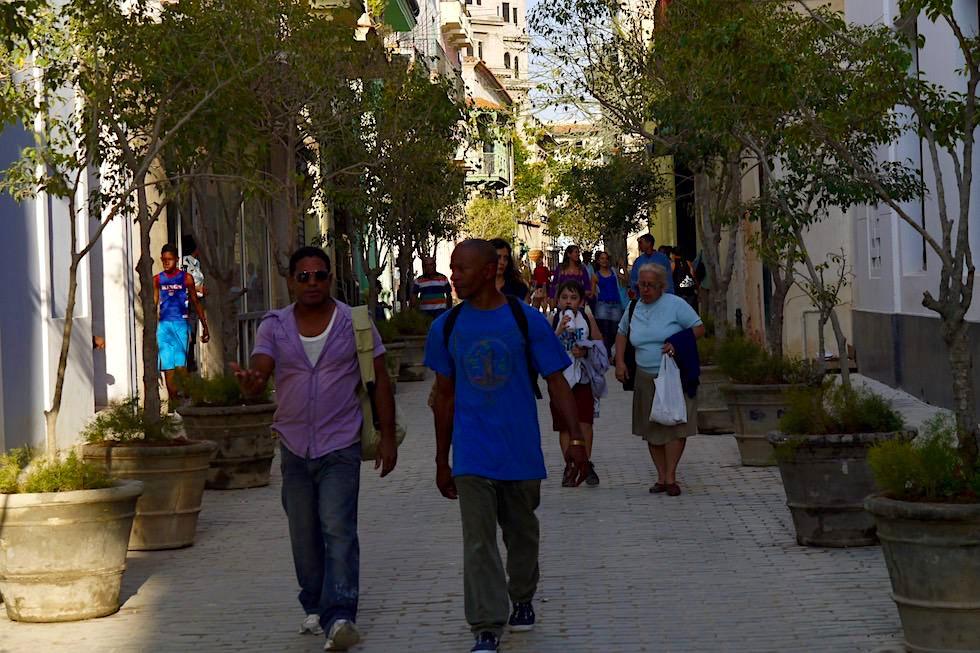 Verbindungsgassen zwischen den großen Plazas - Havanna - Kuba