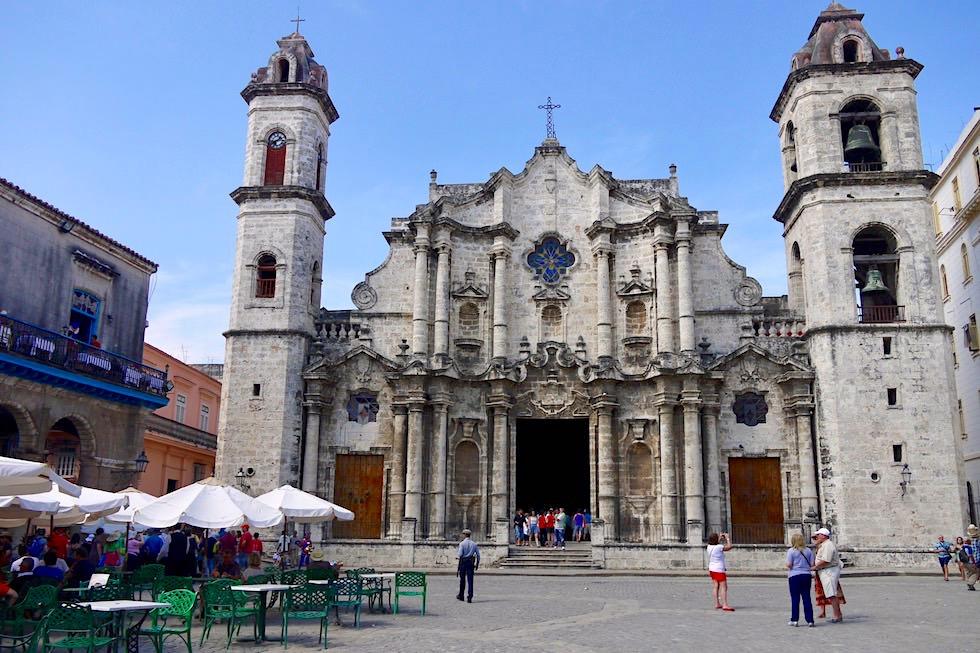 Plaza de la Catedral - Einst religiöser Mittelpunkt Havannas - Kuba