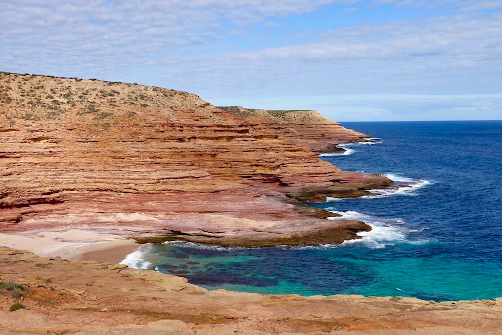 Blick über Pot Alley hinweg - Kalbarri National Park & Coral Coast - Western Australia