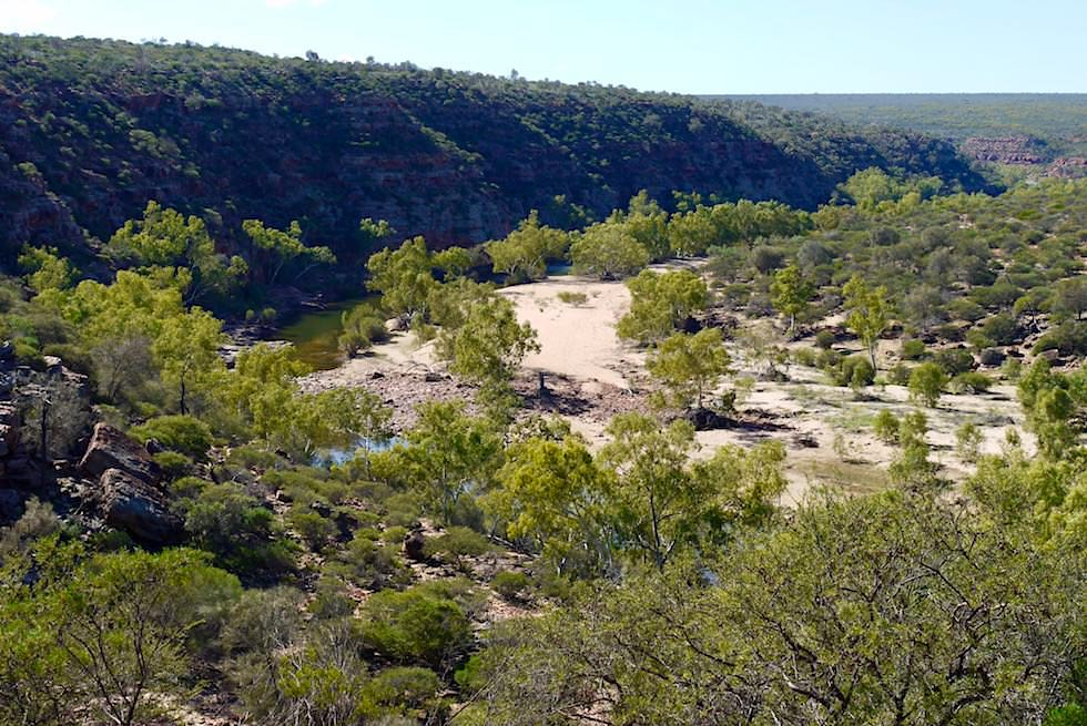 Ausblick vom Ross Graham Lookout - Kalbarri National Park - Western Australia
