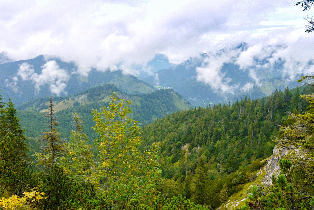 Schildenstein, Gufferthütte & Blauberge Wanderung - Grandiose Ausblicke vom Wanderweg - Wildbad Kreuth, Bayern