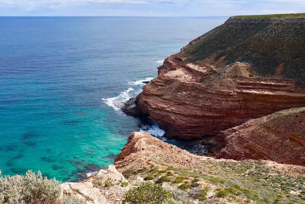 Faszinierende Farben & Felsformationen: Shellhouse Grandstand - Kalbarri National Park & Coral Coast - Western Australia