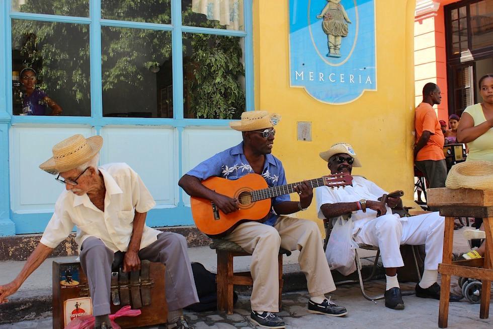 Son Strassenmusik - Havanna - Kuba
