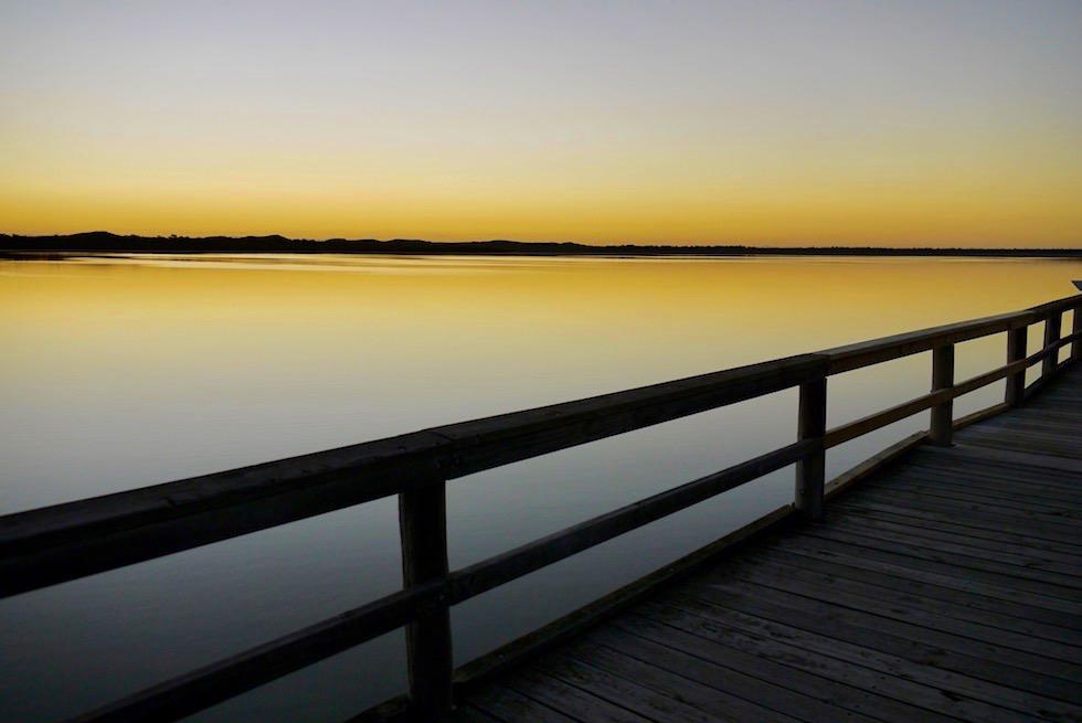Sonnenuntergang Lake Clifton - Western Australia