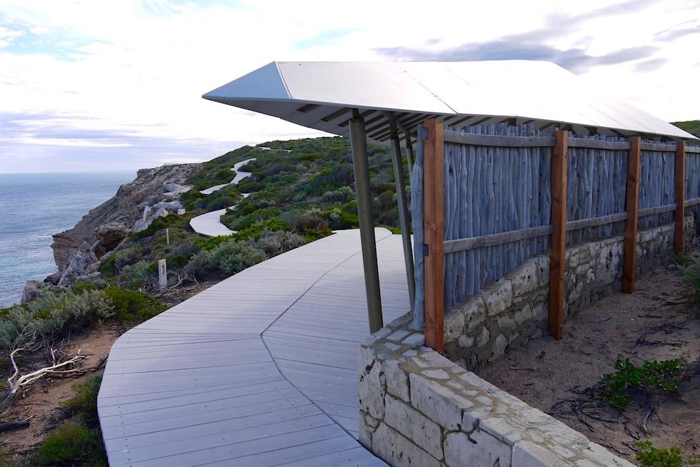 Wunderschöner Spazierweg entlang der Küste - Indischer Ozean & Kalbarri National Park - Western Australia