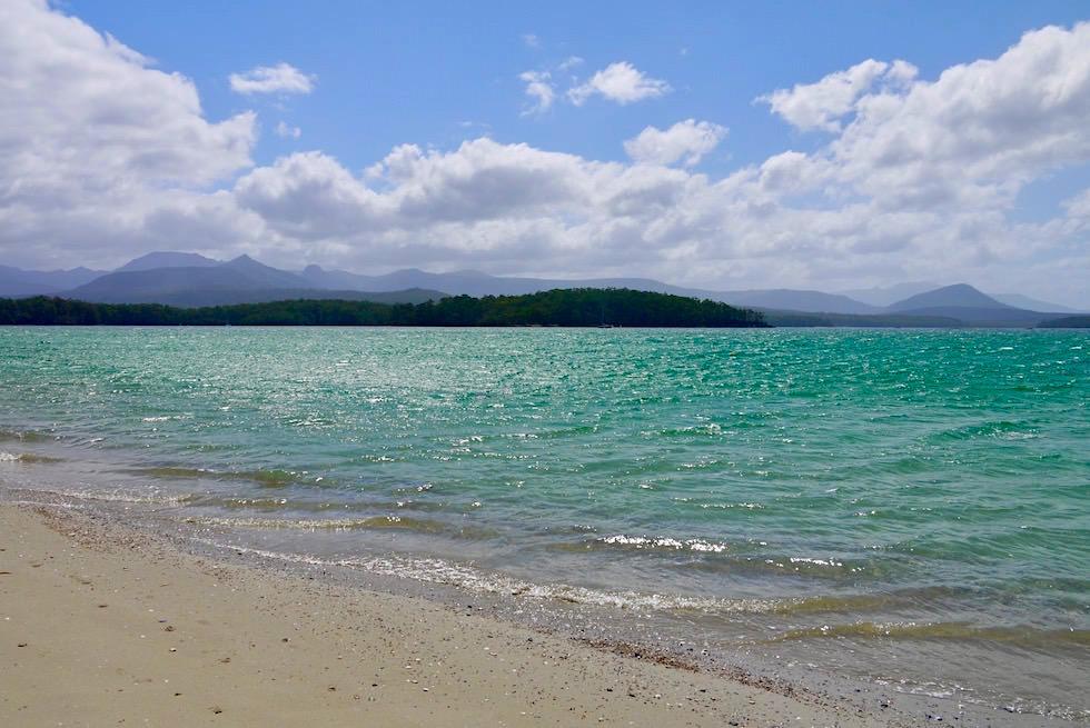 Strand, Meer, Berge - Cockle Creek & Tasmanische Wildnis bilden das südlichste Ende Australiens - Tasmania