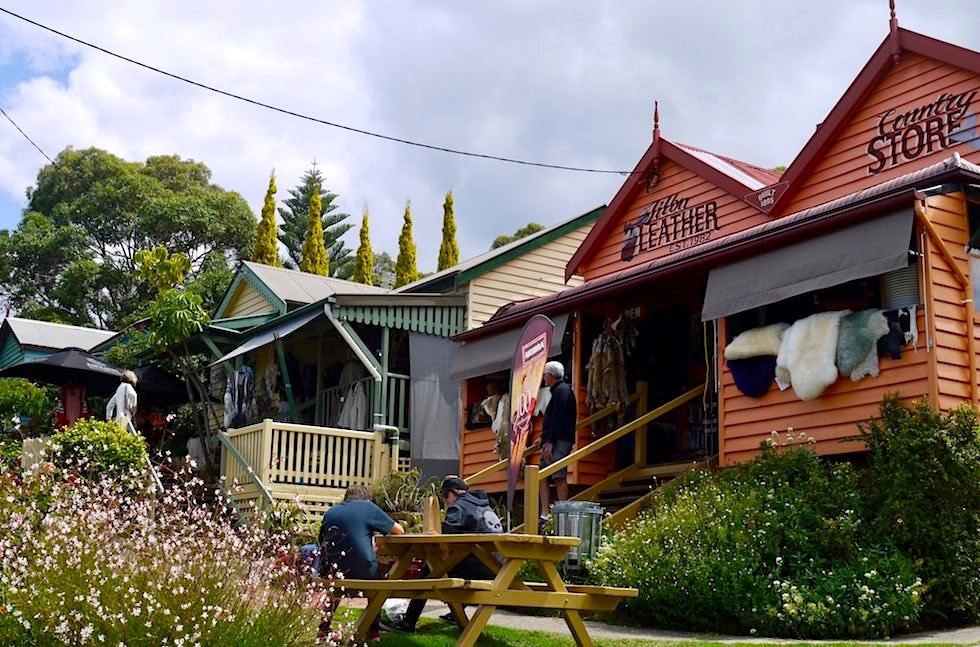 Tilba Centre - ehemalige Goldgräberstadt & heuteTouristenidylle - New South Wales