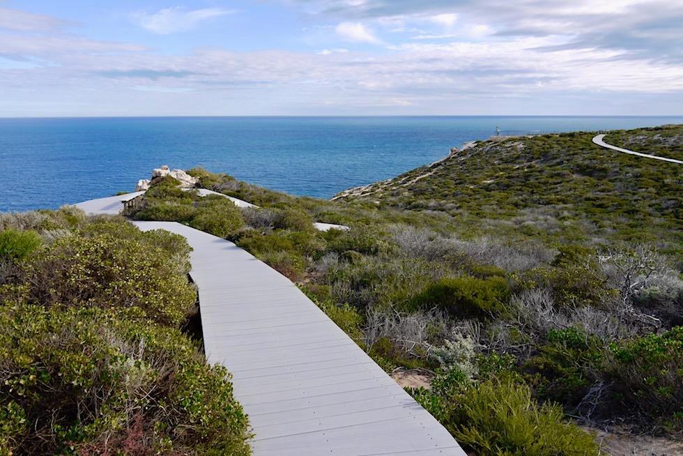 Schön angelegter Spazierweg vom Nature Window zum Island Rock - Kalbarri National Park - Western Australia