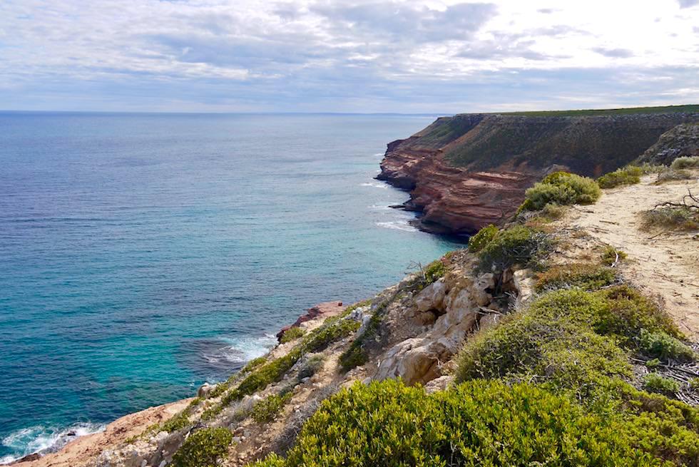 Weg zum Shellhouse Grandstand - Kalbarri Coast & National Park - Western Australia