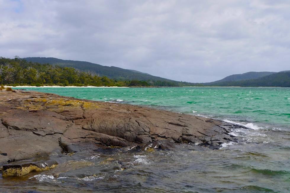 Schnelle Wetterwechsel am Ende Australiens - Cockle Creek - Tasmania