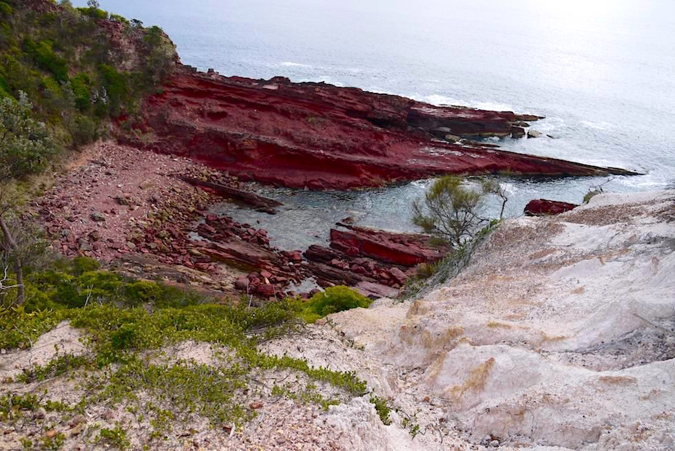 Ben Boyd National Park - Ausblicke Küstenwanderung vom Haycock Point zum Barmouth Beach - New South Wales