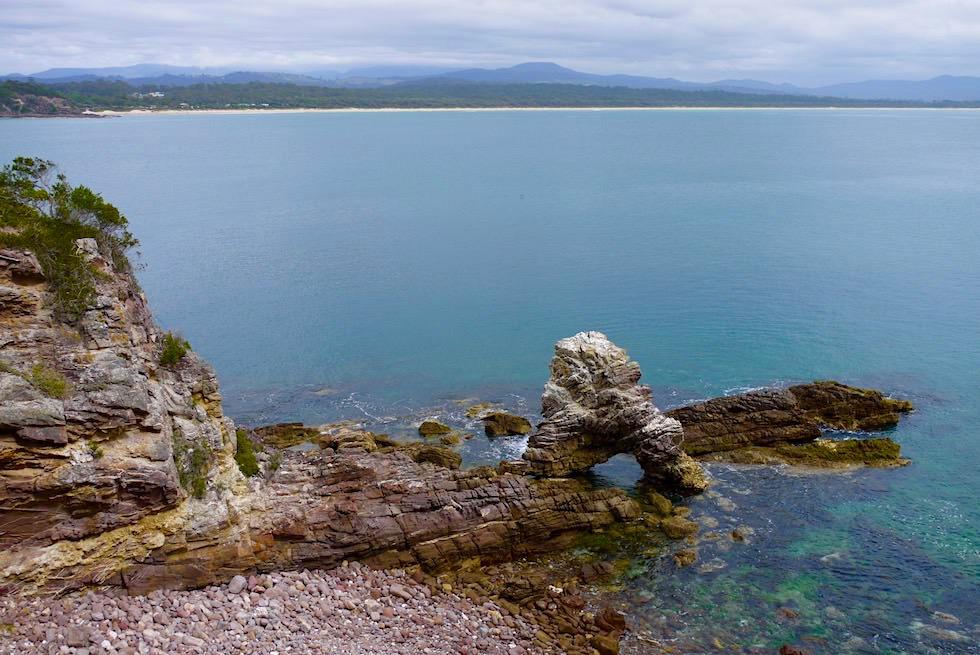 Ben Boyd National Park - nahe Barmouth Beach & Blick auf Pambula Beach - Saphire Coast - New South Wales