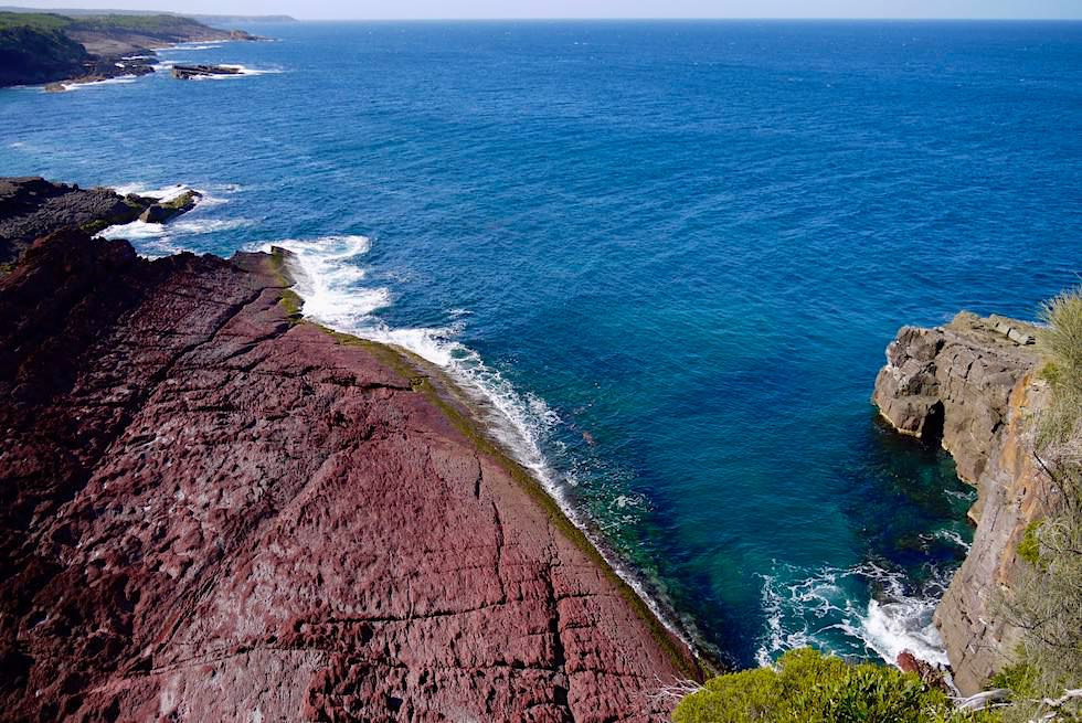 Ben Boyd National Park - Fulminanter Weitblick vom Pulpit Point Lookout - New South Wales