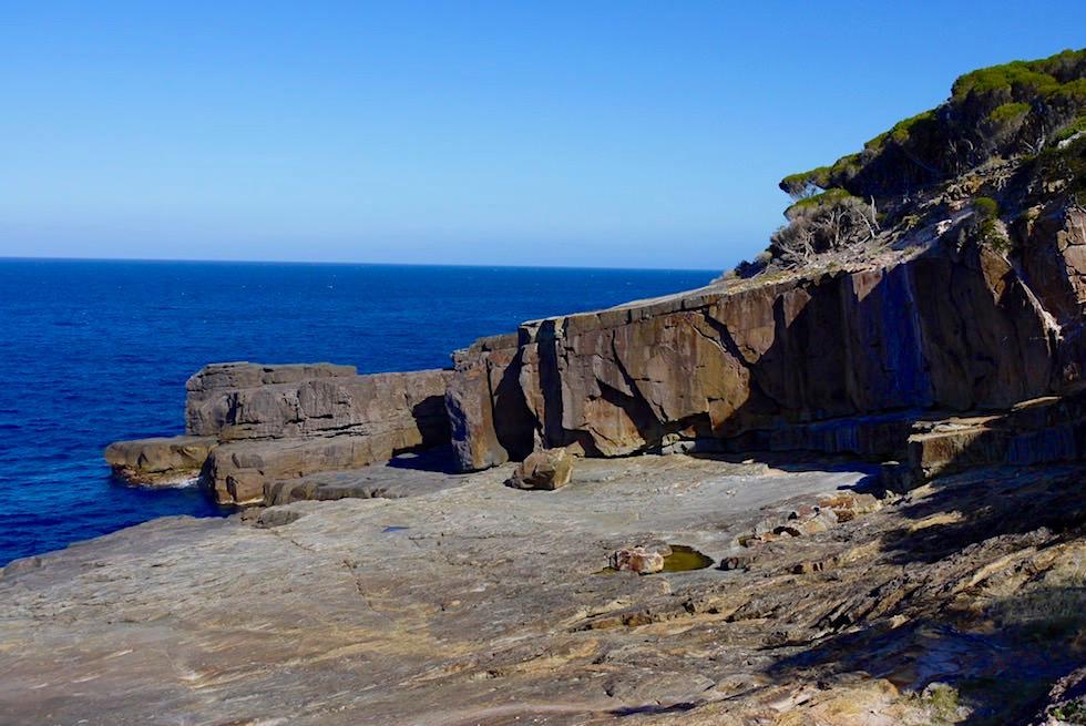 Ben Boyd National Park - Pulpit Point grandiose Felsformationen - New South Wales