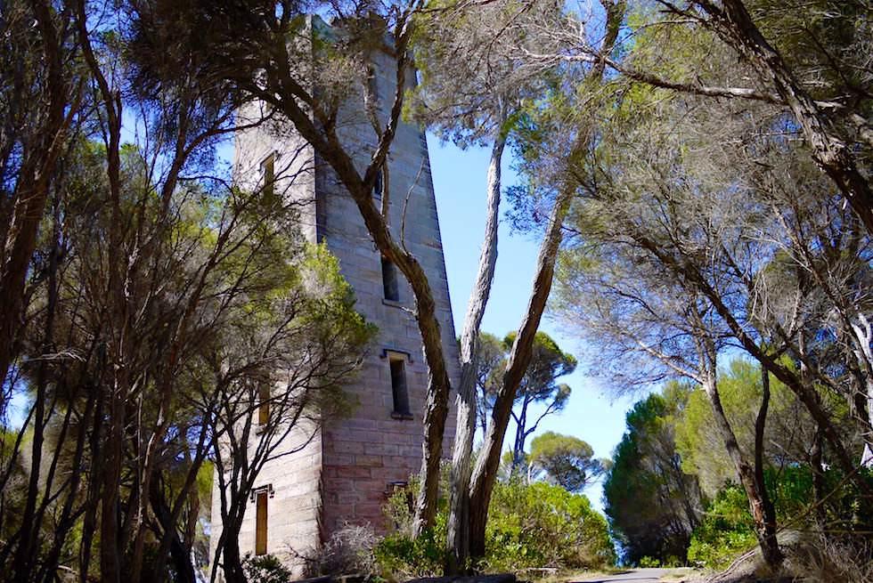 Blick auf Boyds Tower im Süden des Ben Boyd National Parks - New South Wales