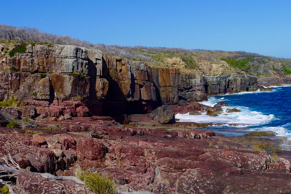 Atemberaubender Ausblick auf die Felsformationen am City Rock Lookout - Ben Boyd National Park - New South Wales