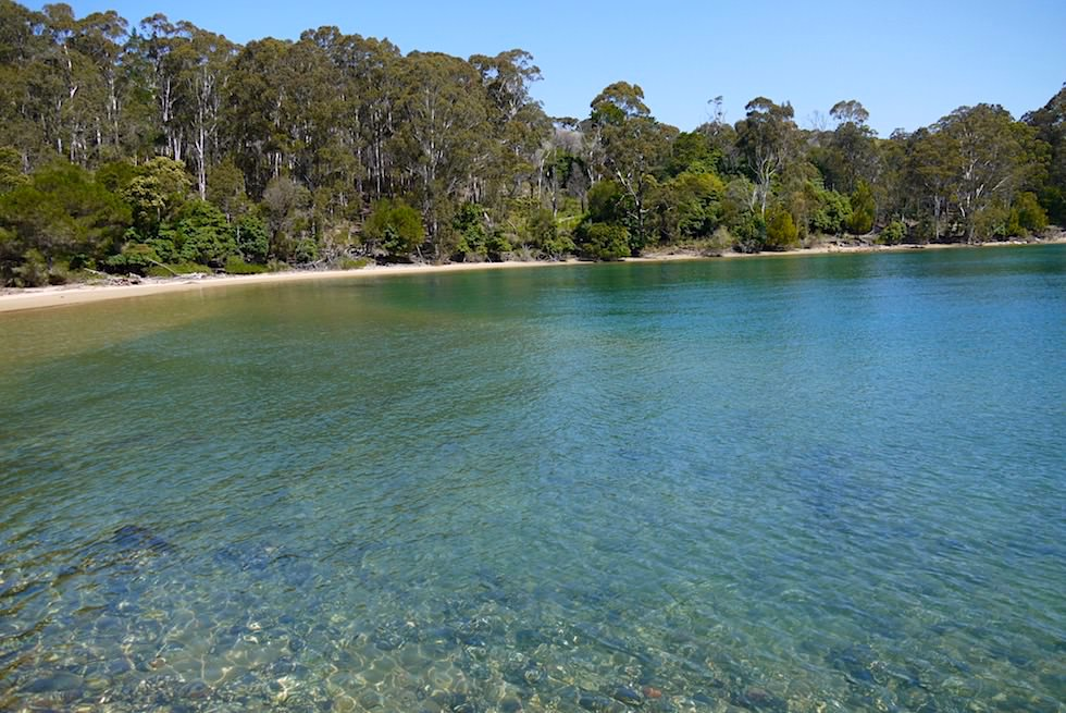 Historic Davidson Whaling Strand & Twofold Bay beim Ben Boyd National Pak - New South Wales