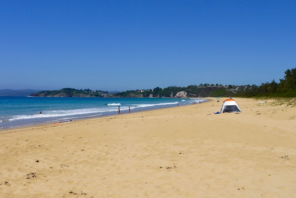 Eden - Aslings Beach & Surf Beach - Sapphire Coast - New South Wales