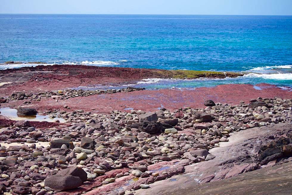 Rote Felsen am Haycock Point - Ben Boyd National Park - Saphire Coast - New South Wales
