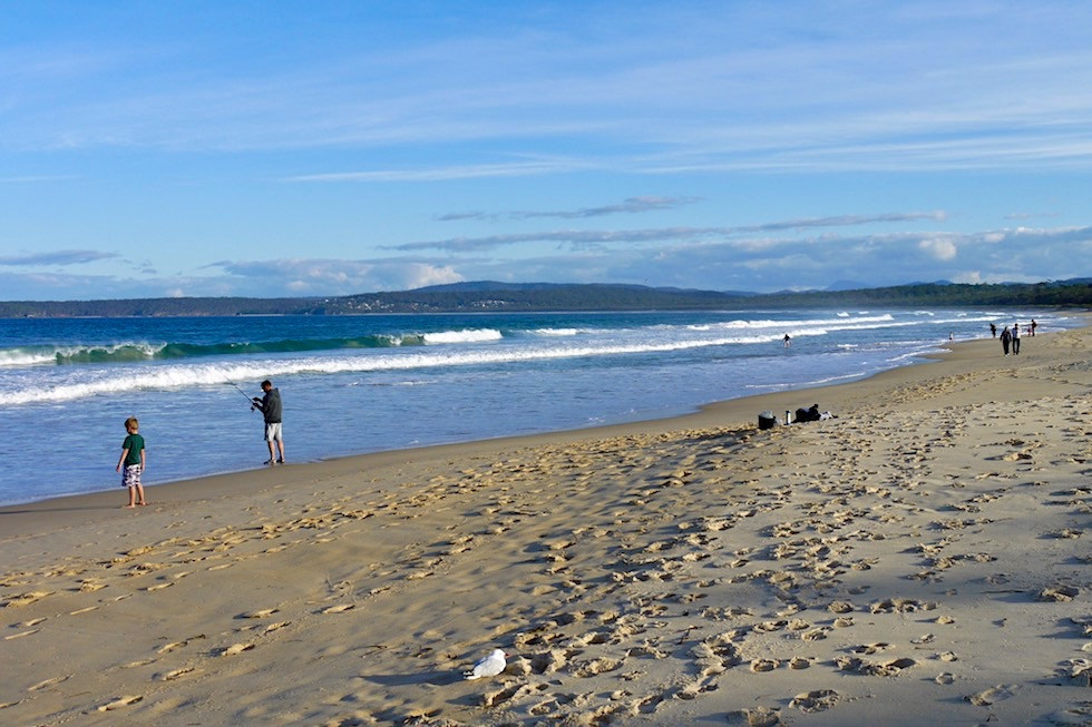 Der einladende Merimbula Main Beach - Sapphire Coast - New South Wales