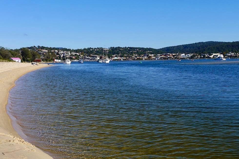 Merimbula - Ausblick auf Strand & Stadt - Sapphire Coast - New South Wales