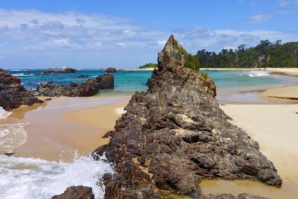 Mystery Bay: bezaubernd schöner Strand mit interessanten Felsformationen - Eurobodalla Coast - New South Wales