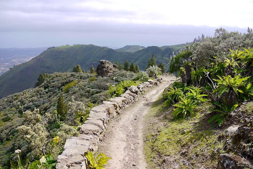 Route1: Roque Grande - Schöner Wanderpfad - Valsequillo - Gran Canaria