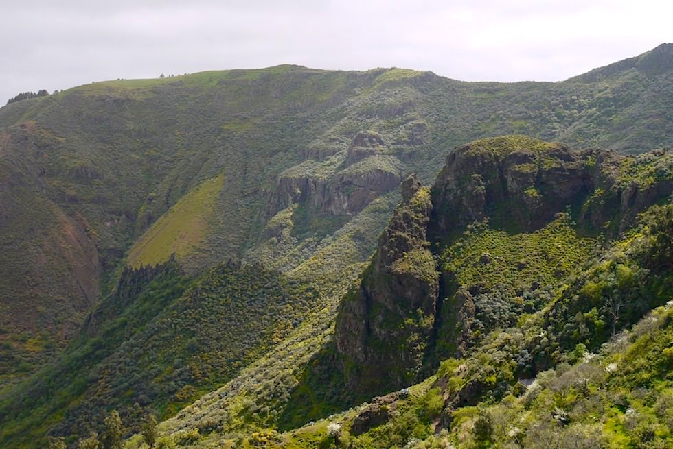 Roque Grande Wanderung - Bergblick - Valsequillo - Gran Canaria