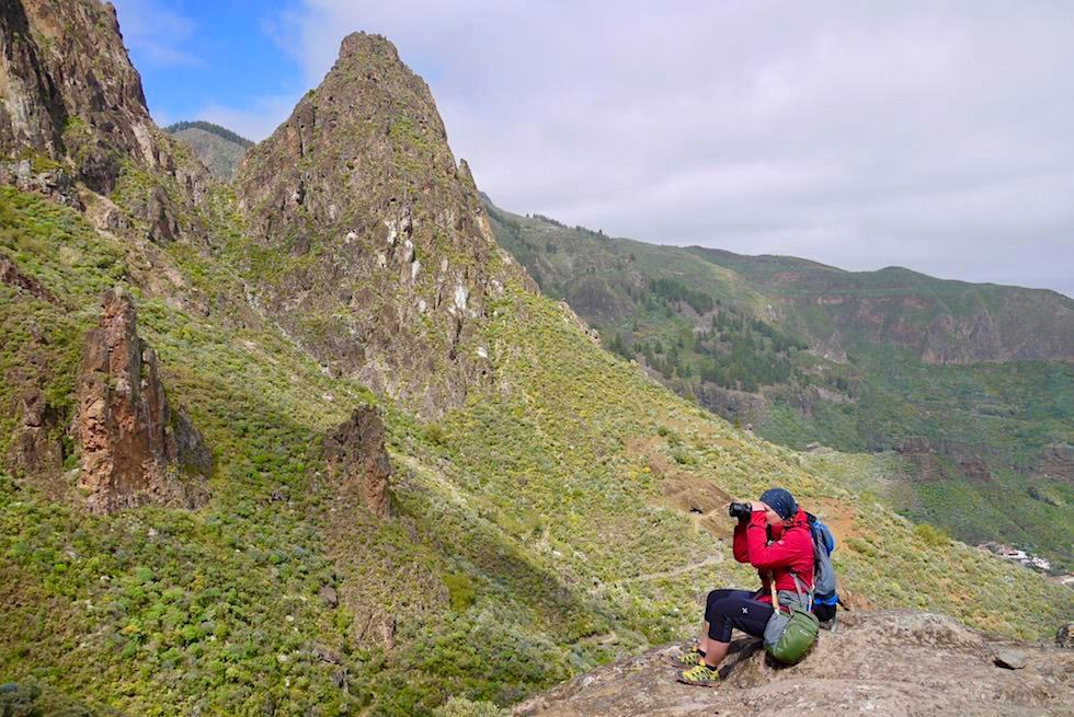 Roque Grande Wanderung - Era Blanca Aussichtspunkt - Valsequillo - Gran Canaria