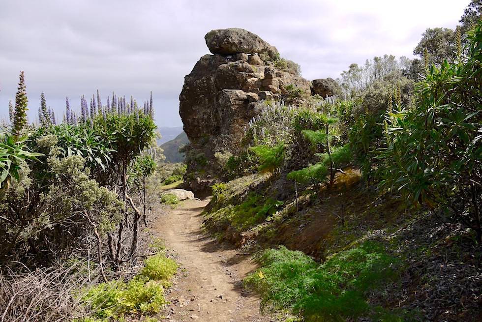 Roque Grande Wanderung - imposante Felsformation - Valsequillo - Gran Canaria