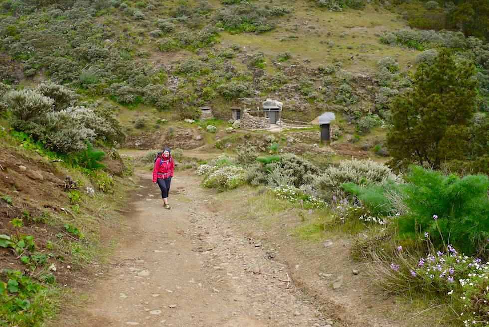 Roque Grande Wanderung - Start Route 10 - Valsequillo - Gran Canaria