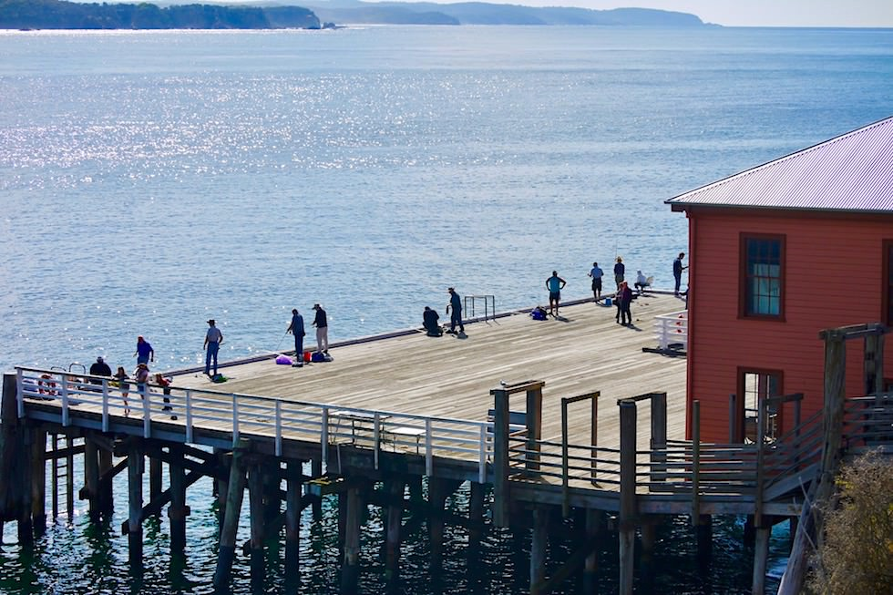Sapphire Coast - Ein kultig-schöner Ort: Historic Tathra Wharf - New South Wales