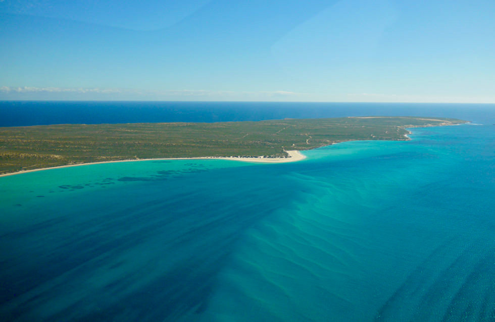 Shark Bay Scenic Flight - Blick auf Edel National Park - Western Australia