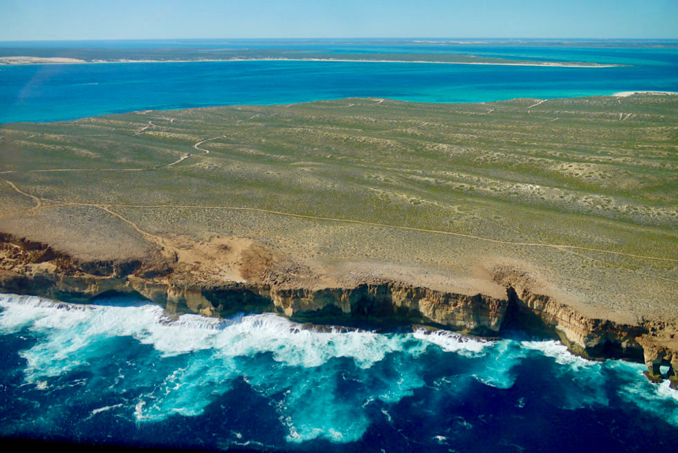 Shark Bay Scenic Flight: Atemberaubend schöner Edel Land National Park - Western Australia