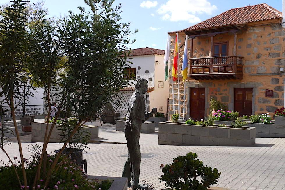 Valsequillo - Dorfplatz & Rathaus - Gran Canaria
