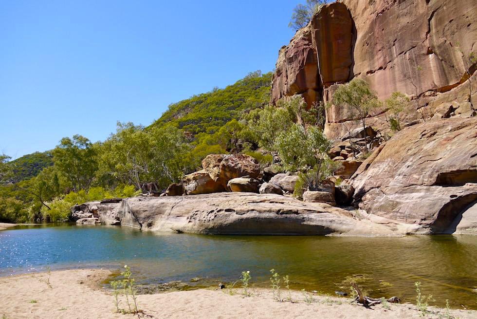 Oase & Abenteuerspielplatz - Porcupine Gorge National Park - Outback Queensland