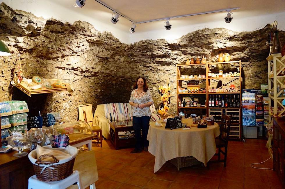 Artenara - Arte Gaia Höhlen-Shop - Gran Canaria