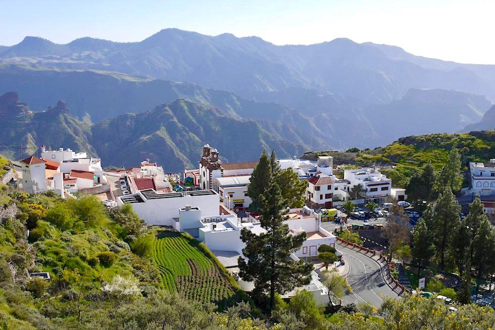 Zauberschönes Artenara - schönstes, kleinstes & höchstes Bergdorf mit vielen Höhlenhäusern - Gran Canaria