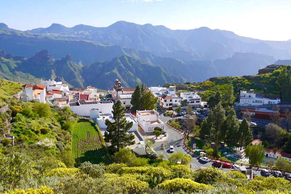 Wunderschön gelegen: Artenara - Schönstes & höchstes Bergdorf - Gran Canaria Highlights