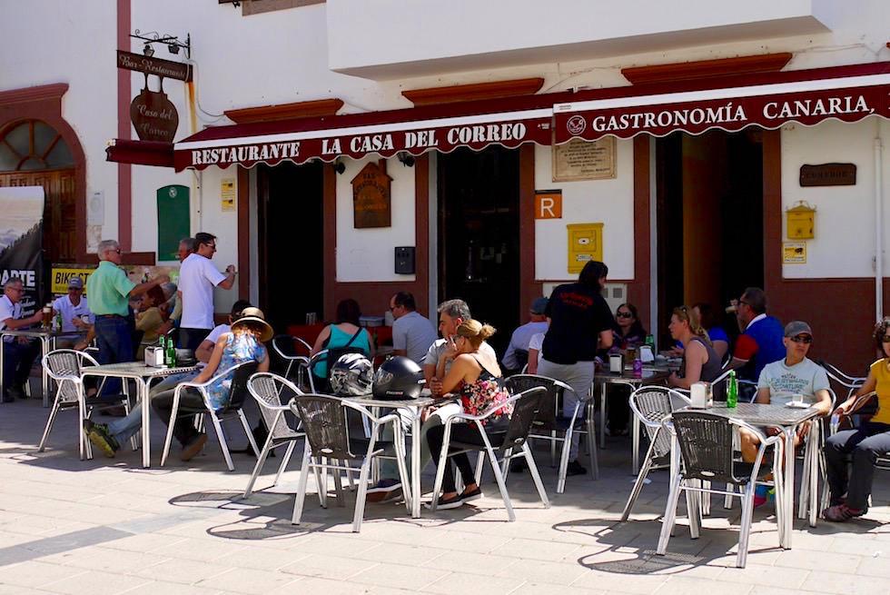 Artenara - Restaurante Casa del Correo - Gran Canaria