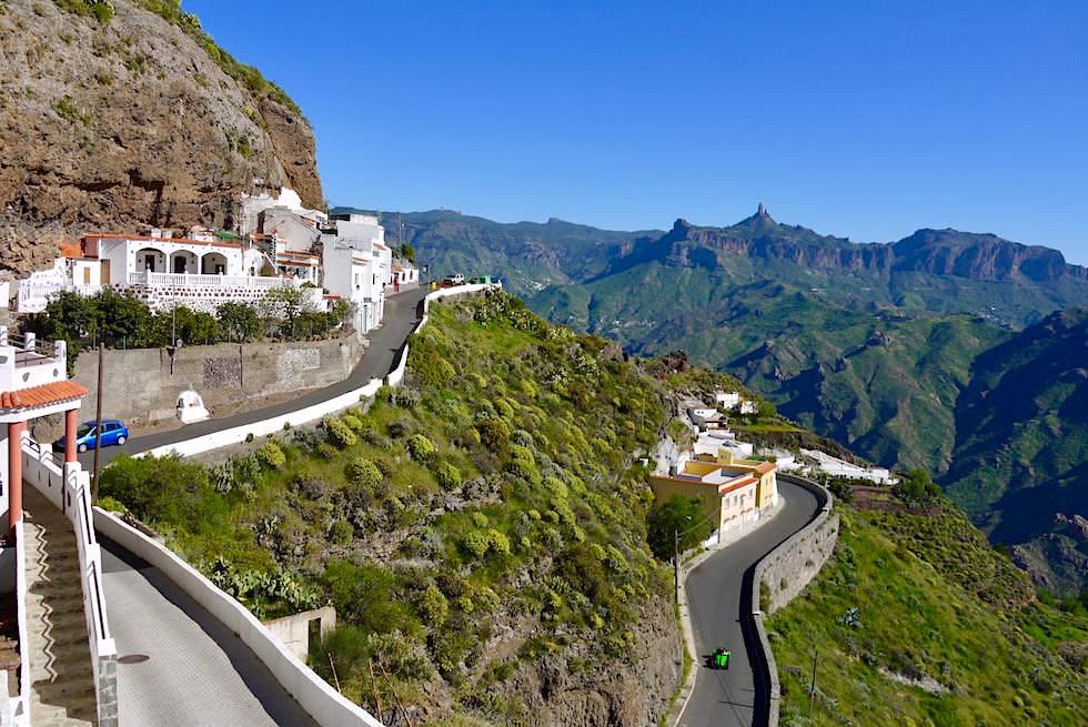 Artenara - Häuser in Höhlen & Felsen gebaut - Gran Canaria
