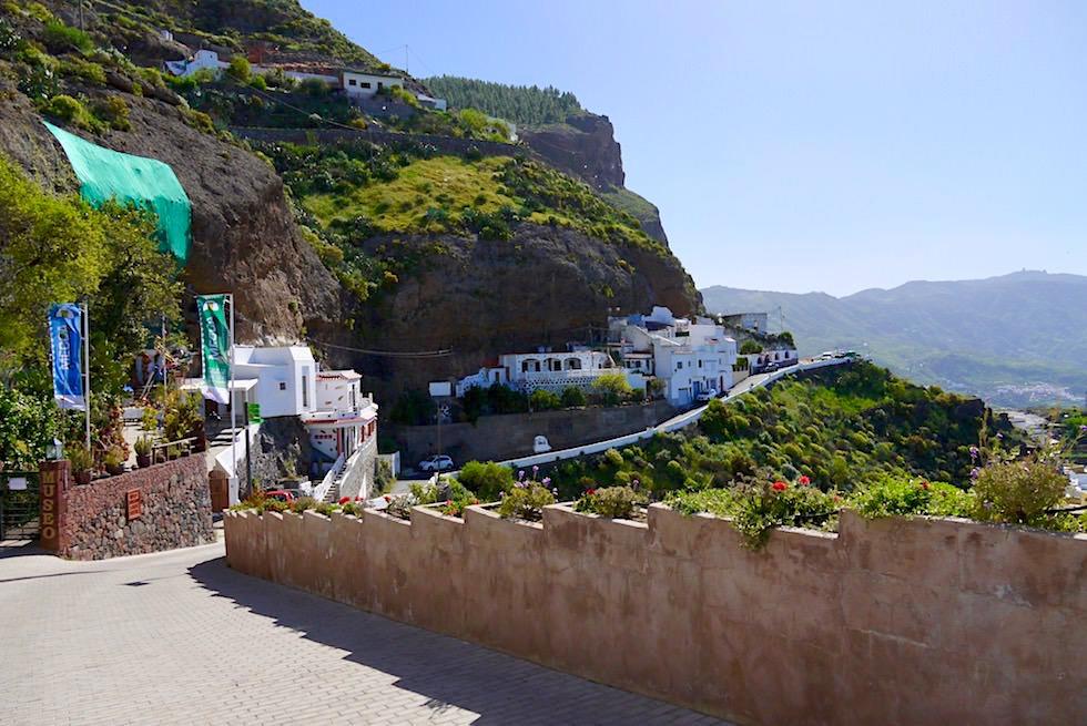 Artenara - Wunderschöne Höhlen-Häuser in Felswände gehauen - Gran Canaria
