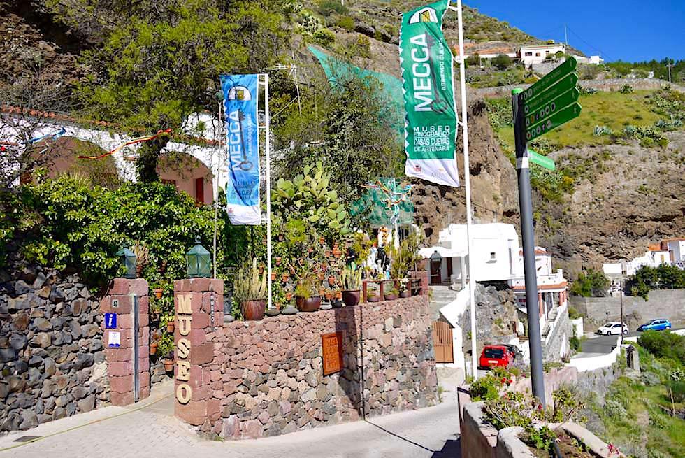 Artenara - Beeindruckendes Höhlen-Museum - Gran Canaria