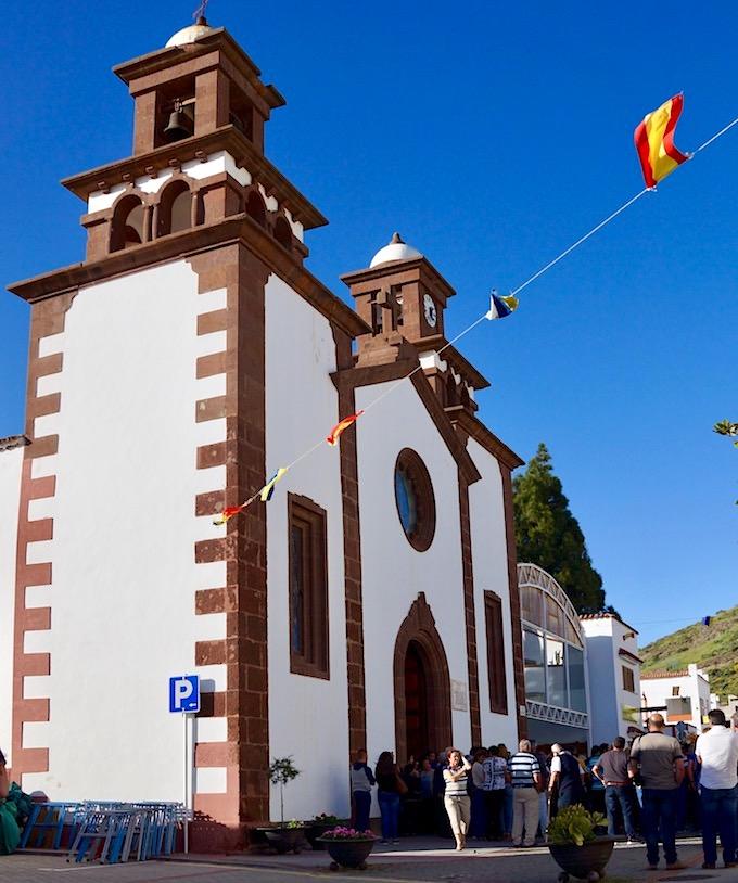 Artenara - Kirche: Iglesia de San Matias - Gran Canaria