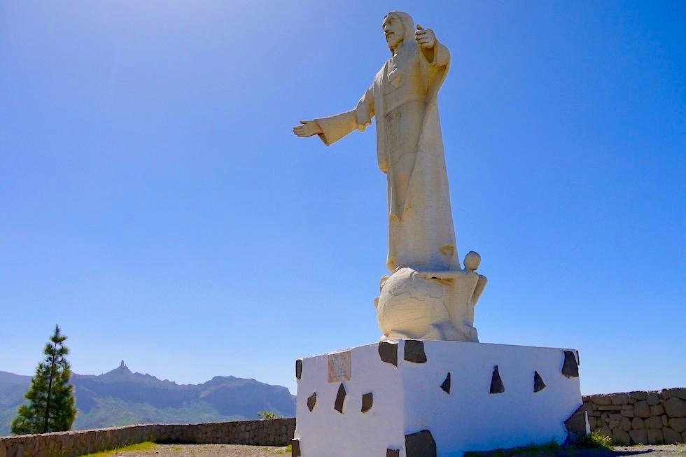 Artenara - Mirador Corazon de Jesus & Statue - Gran Canaria