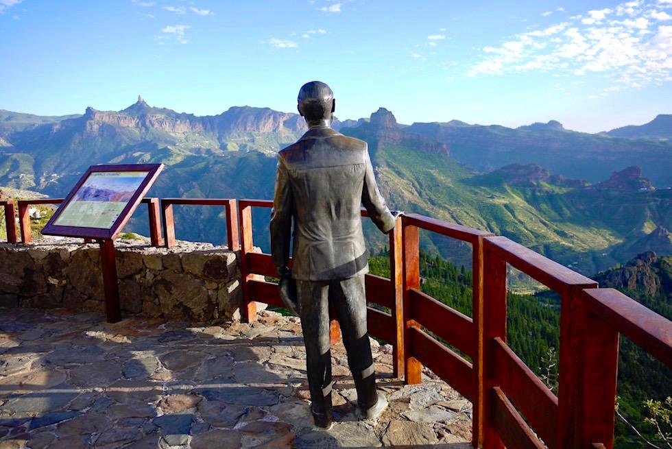 Artenara - Atemberaubender Ausblick vom Mirador de Unamuno - Gran Canaria