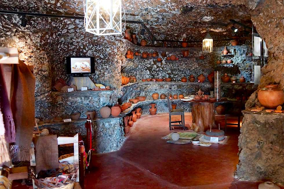 Artenara - Museum: traditonelle Handwerkskunst - Gran Canaria